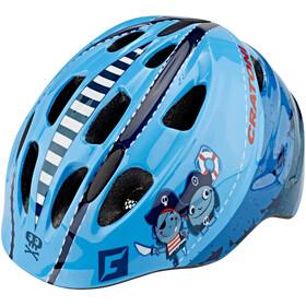 Cratoni Akino Kask rowerowy Dzieci niebieski